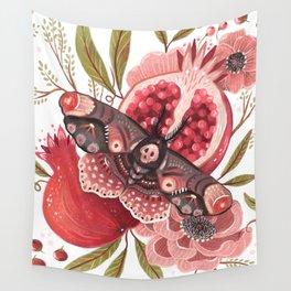 Moth Wings II Wall Tapestry