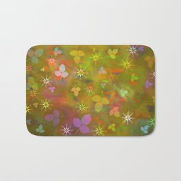 Spring flowers 02 Bath Mat