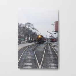 Strasburg Railroad Series 25 Metal Print