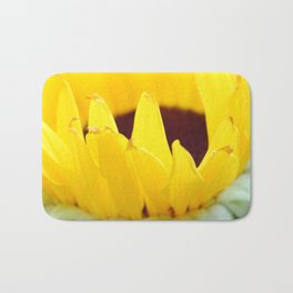 Sunflowers Face the Sun Bath Mat