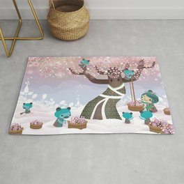 Cloudseeders Spring Harvest Rug