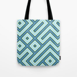 Square Truchets in MWY 01 Tote Bag
