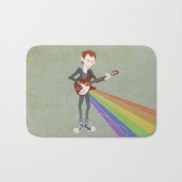 Radiohead Thom in Rainbows Bath Mat
