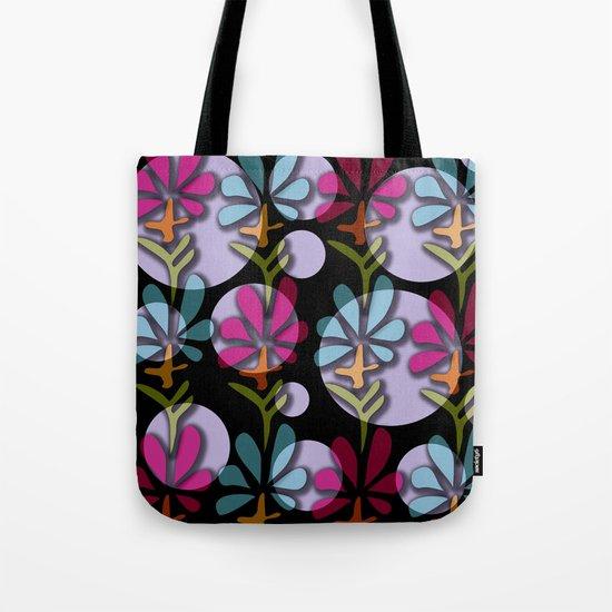 Flower 12 Tote Bag