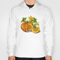 pumpkin Hoodies featuring Pumpkin by ElenaTerrin