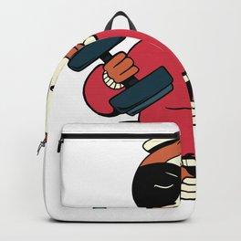 Bodybuilders sloth Backpack