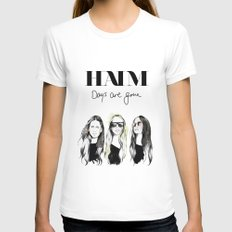 Haim Days are gone Womens Fitted Tee White SMALL