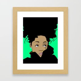 Wonder Girl Framed Art Print