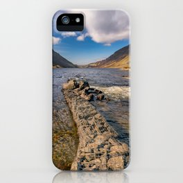 Llyn Cowlyd Snowdonia iPhone Case