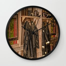 Maker's Mark Fire Department Wall Clock