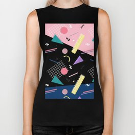Dreaming 80s Pattern #society6 #decor #buyart Biker Tank