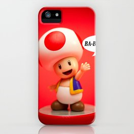 """BA-BAAH!!"" iPhone Case"