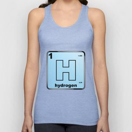 Hydrogen From The Periodic Table Unisex Tank Top