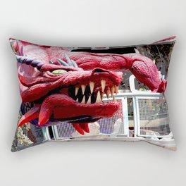 Fire Breather  Rectangular Pillow
