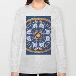 A Circle of Manatees Long Sleeve T-shirt