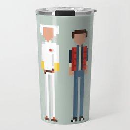 Doc and Marty Travel Mug