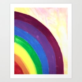 rainbow love (z) Art Print