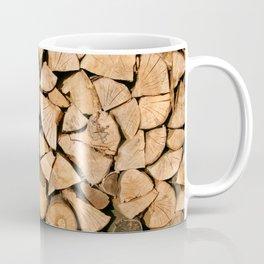 Wood Profile Coffee Mug