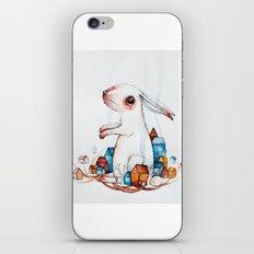 Very big rabbit iPhone & iPod Skin