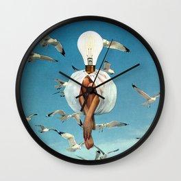 Fleeting Déjà Vu Wall Clock