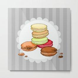 Macarons | SCARLETTDESIGNS. Metal Print