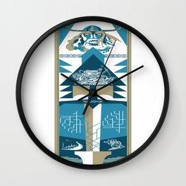 A Viking History No. 2 Wall Clock