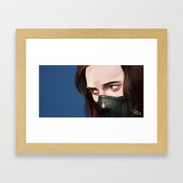 real live wire Framed Art Print