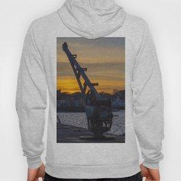 Donaghadee Crane - Sunset Hoody