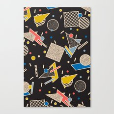 Memphis Inspired Design 8 Canvas Print