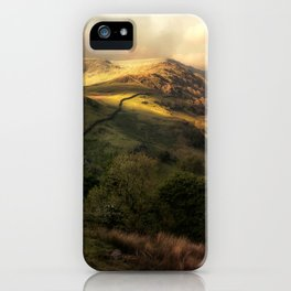Postcards from Scotland iPhone Case