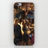 resident evil iPhone & iPod Skins featuring Resident Evil 6 by Dr-Salvador