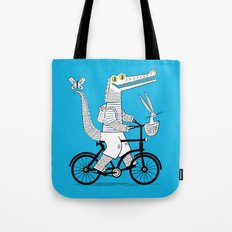 The Crococycle Tote Bag