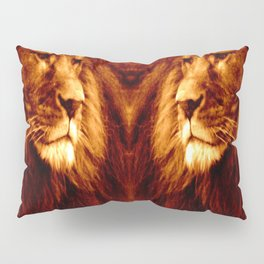 Golden Lion Pillow Sham