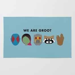 We Are Groot Rug