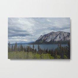 Tagish Lake Yukon Canada Metal Print