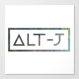 Alt -J Canvas Print