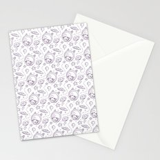 space kid pattern Stationery Cards