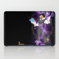 dbz iPad Cases featuring DBZ Tesla by Hushy