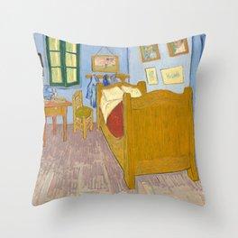 Van Gogh - Bedroom in Arles - Painting Throw Pillow