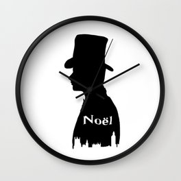 Chris Colfer as Noel Coward Wall Clock
