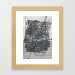 Brooklyn Bridge Abstraction I Framed Art Print