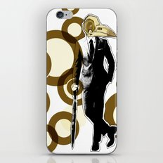 Gentlemen, We got a dead one here.. iPhone Skin