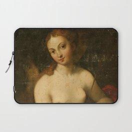 """Antonio Allegri da Correggio """"Venus and Cupid"""" Laptop Sleeve"""