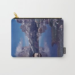 ESCAPE #2 #BLUE #Original - Peace in the Mountains Carry-All Pouch