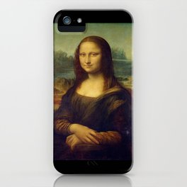 Leonardo da Vinci -Mona lisa - iPhone Case