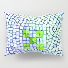 artisan 22.06.16 in lime & shades of blue Pillow Sham