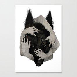 Wild Dog Canvas Print