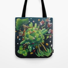 The consoling planet Tote Bag