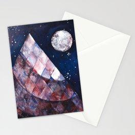 Night Pyramid Stationery Cards