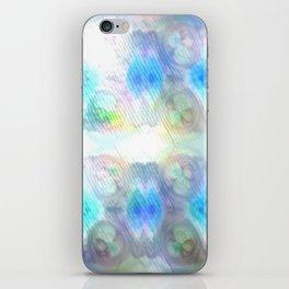 Brightly So Devils Pattern 1 - Newer Rainy Pastel Beginnings iPhone Skin